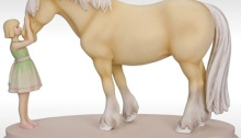Horse Whispers Figurine Mary's Tack & Feed