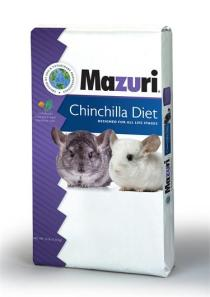 Mazuri Chinchilla Food, available at Mary's Tack and Feed.