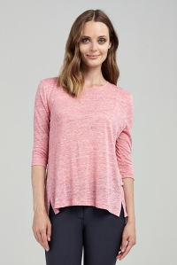 Asmar Featherlight Linen Tee